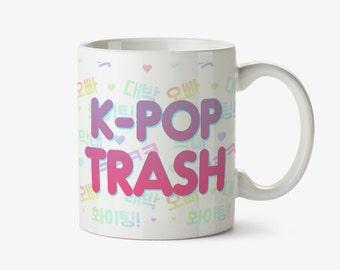 KPOP Trash Coffee Mug