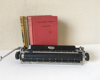 Vintage Royal Typewriter Carriage