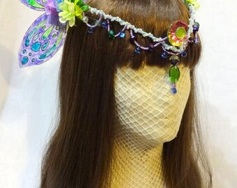 Cool Mint Fairy Crown