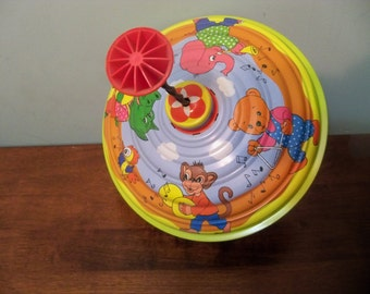 spin top toy made in Germany