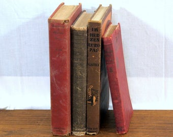 Instant Collection, Antique Books in French, Spanish, German