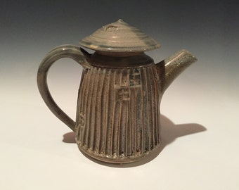 Fluted Tea Pot