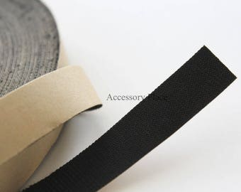 """5 Yards Thin Fabric Finishing Tape for Headbands Ends.. 15mm width(just under 5/8"""")"""