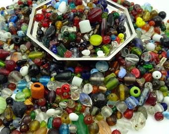 Quarter Pound Glass Beads - (Bl)