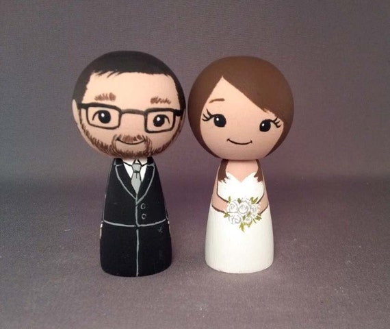 brunette wedding cake toppers wedding cake toppers doll 12201