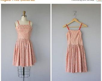 25% OFF FLASH SALE.. 1950s Party Dress | 50s Summer Dress | 50s Sun Dress | 1950s Day Dress