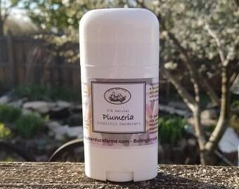 Plumeria Natural PROBIOTIC Deodorant - Paraben & Aluminum Free