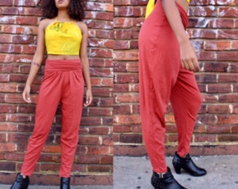 Vintage 1980s Burnt Orange Pants