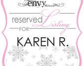 Baby It's Cold Outside Booklet Style Baby Shower Invitation Sets... Reserved for Karen R.