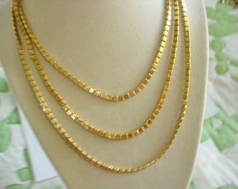 Vendrone Necklace Chain Link 52""