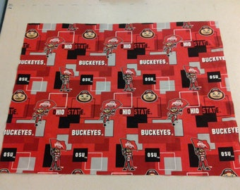 Ohio State Buckeyes Fabric 247879