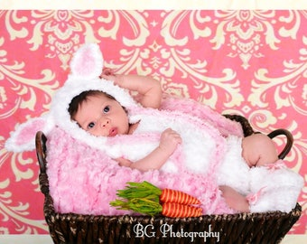 Baby Boy Easter Outfit - Easter Outfit - Newborn Easter Outfit - 1st Easter Outfit - Easter Bonnet - Lamb Outfit - Newborn Lamb Costume