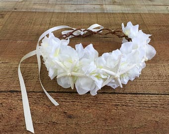 Starfish Head Wreath,Nautical Bride,Beach Bride,Mermaid Crown,Destination Wedding,Starfish Hair Accessory,Music Festivals