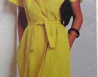 Wrap Dress Sewing Pattern UNCUT Simplicity 9331 Size 12