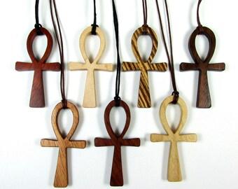 RESERVED CUSTOM ORDER / Ankh Cross Pendants /Lot of 7 / Eternal Life Symbol