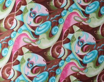 Fabric Quilting Supplies Sewing Supplies Crafts and Tools Sewing and Notions Multi Color Fabric Sewing and Fibers Brown Fabric Pink Fabric