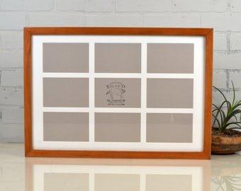 4x6 Triptych Picture Frame Three Windows For 3 Photos With