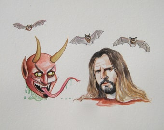 Rob Zombie and Devil