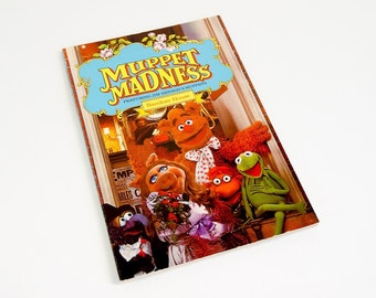 Vintage 1980s Childrens Book / Muppet Madness Activity Book 1981 Pb VGC / Muppets Jim Henson Collectible