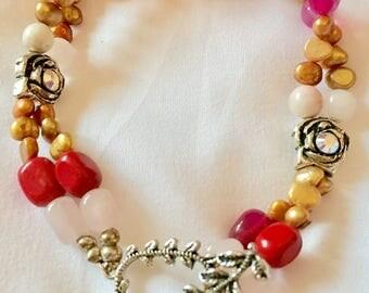 Multi Gem Swarovski Crystal Bracelet