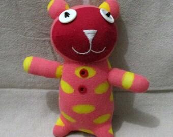 Clearance Handmade Sock Bear Stuffed Animal Doll Baby Toys