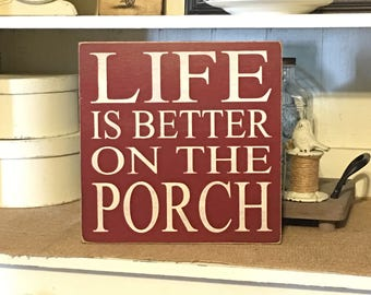 Porch Rules Sign,Porch Sign,Front Porch Sign,Porch Decor,Welcome Sign,Rustic Decor,Primitive Decor,Wood Sign