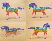 Rainbow transparent Stablemate for Kristin