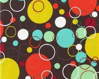 Brother and Sister Design Mid Century Mod Dots - one yard