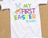 My First Easter Personalized Bodysuit - Easter