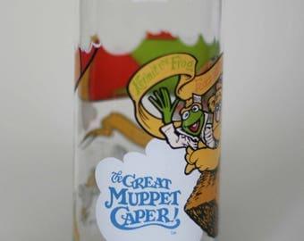 vintage great muppet caper mcdonalds glass 1981