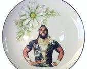 """ON SALE Sergeant Bosco Portrait Plate 8.5"""""""