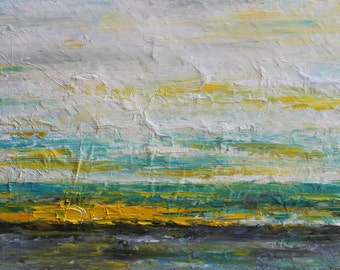 Oil Abstract Painting  Oil Painting Original Oil Painting Christmas Gift Abstract Art Palette Knife Art Painting by Mirjana