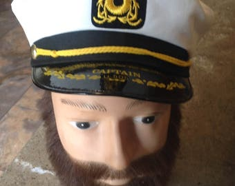Vintage Captain U 505 Submarine Hat Museum of Science and Industry Souvenir