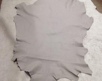 MA01.  Dove Gray Leather Lambskin