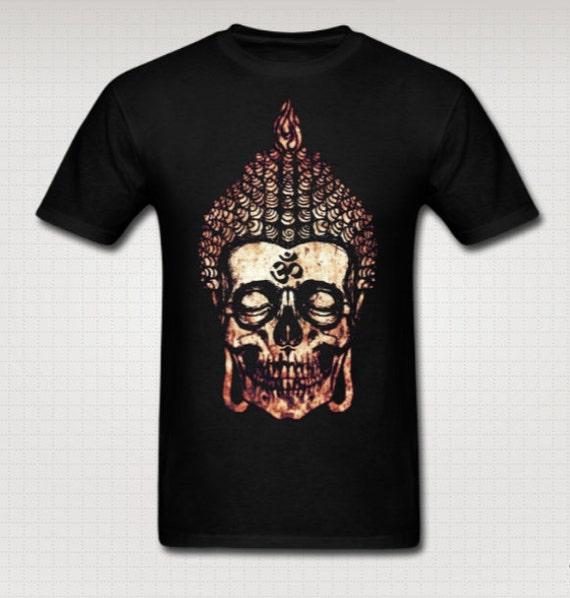 Buddha Skull T Shirt