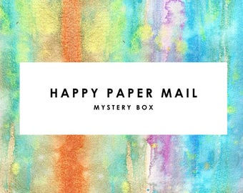Mystery Paper Lovers Kit! Stationary, Pens, Notes, Greeting Cards Planner Inserts, Stickers, Accessories & More!