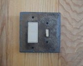 Decorative Slate Switch Plate Outlet Cover GFI Decora Rocker Combo Switchplate Light Wall Plate SS/SGFI