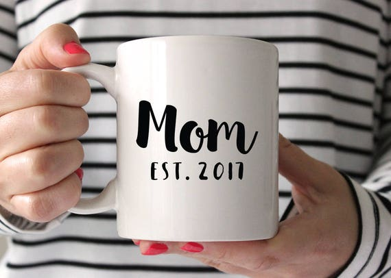 Mothers Day Gift New Mom Gift Birthday Gift for Mom Baby Shower Gift for Mom New Mother Gift Mom Mug Mothers Day from Husband Coffee Mug