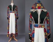 vintage 1970s Gunne Sax dress with hood | Elfin princess