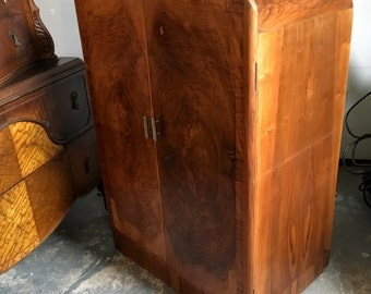 Vintage Art Deco Modern Chifferobe Dresser OR Bar Shipping NOT included