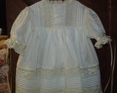 Special Order for Susan two heirloom dresses and matching slips Wedding Flower girl Portrait Easter