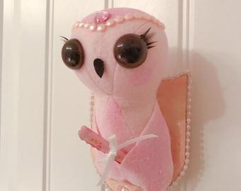 Mini Owl Taxidermy