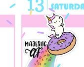 MAF - Sprinkles Majestic Donut Planner Stickers