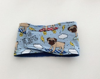 Belly Bands for Male Dogs - Belly Band - Male Dog Diapers - Male Dog Belly Band - Pug Life -Available in all Sizes