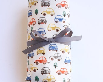 Car roll - car mats - toddler busy toy - inside play ideas - car play mat - car carrier - take out toy - cafe toy - busy toy - boy - toycars