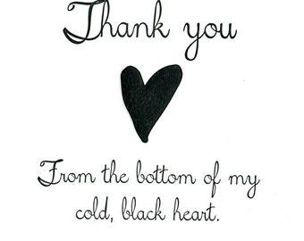 Black Heart Thanks