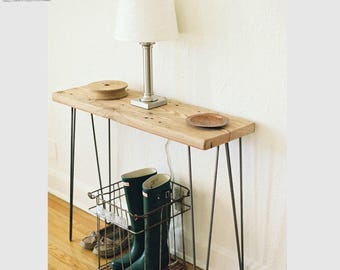 Mid Century Reclaimed Console table any size 149.00