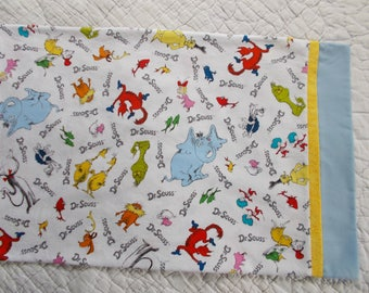 Dr Suess Childrens or Travel  Pillow Case
