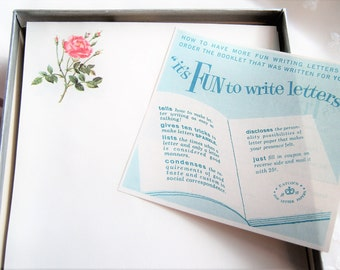 Scented Stationery Musk Rose Love Letters Eaton's Musk Oil Perfumed Vintage Writing Paper with Envelopes Feminine Romantic