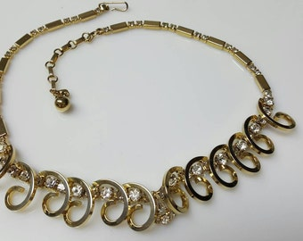 Sarah Coventry Necklace Celestial Fire 1955 Mint Condition and Fabulous